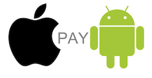 We Accept Apple & Android Pay